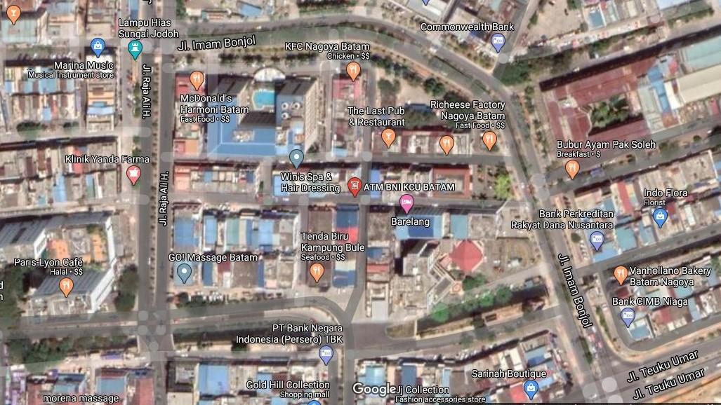 Alamat, Lokasi ATM Setor Tunai BNI di Kota Batam